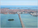 Venice from the air - May 31, 2014