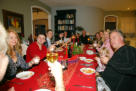 1st Christmas Dinner in Aurora with special friends - 2010